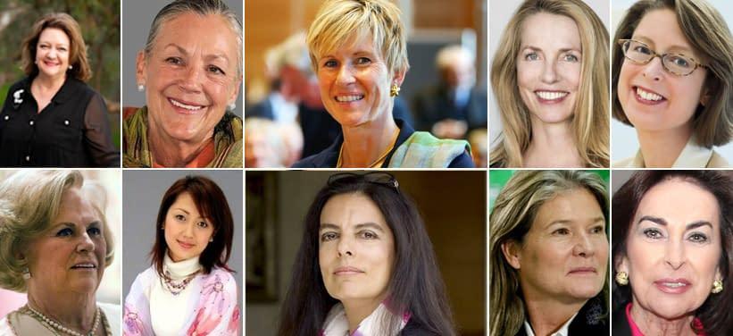 WOMEN BILLIONAIRES: 10 RICHEST WOMEN IN THE WORLD